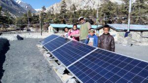 Nepal – Zuverlässige Stromversorgung für unsere Partnerschule