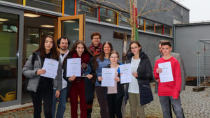 Siegerehrung Wortschatzwettbewerb Latein