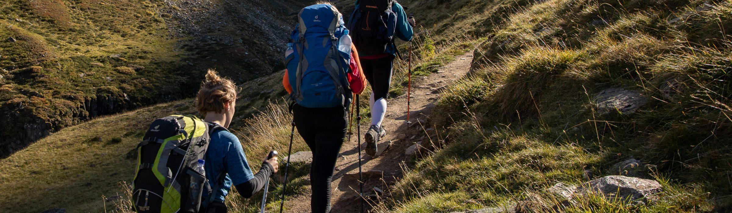 Studienfahrt Alpenüberquerung
